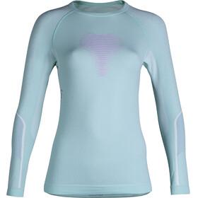 UYN Visyon UW LS Shirt Women Aqua/Pink/Pearl Grey